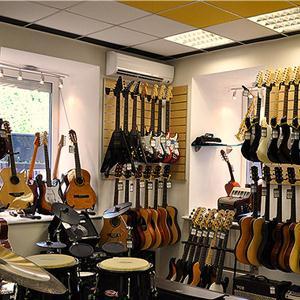 Музыкальные магазины Заозерного